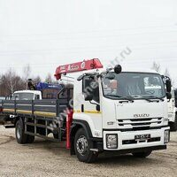 Бортовой ISUZU FORWARD 18.0 с КМУ UNIC URV-373K